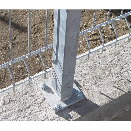 Стълб за ограда 1.5 м