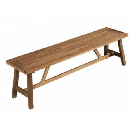 Дървена пейка -160 x 40 см