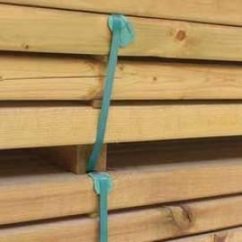 Дървен кол за ограда -190 см