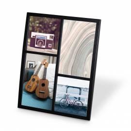 """Рамка за снимки """"SENZA MULTI"""" - цвят черен - UMBRA"""