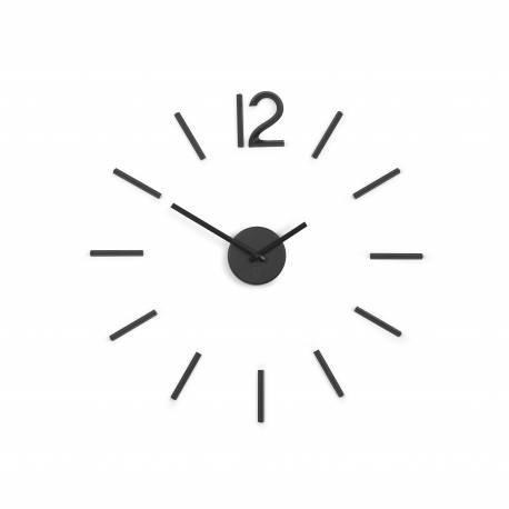 """Часовник за стена """"BLINK"""" - цвят черен - UMBRA"""