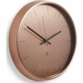 """Часовник за стена """"META"""" - цвят мед - UMBRA"""