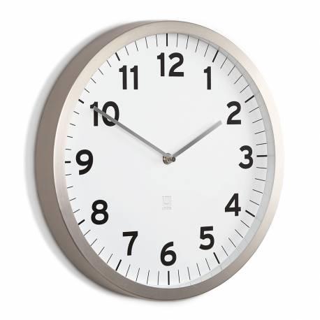 """Часовник за стена """"ANYTIME"""" - бял циферблат - UMBRA"""