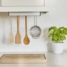 """Imagén: Поставка за кухненски прибори """"FLOAT"""" - цвят никел - UMBRA"""