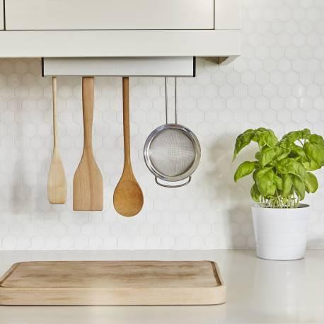"""Поставка за кухненски прибори """"FLOAT"""" - цвят никел - UMBRA"""