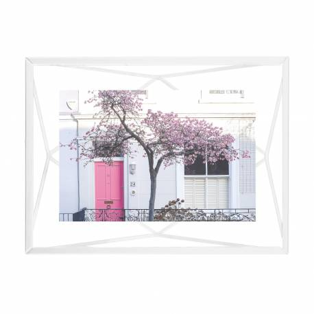 "Рамка за снимки ""PRISMA"" - цвят бял - 10х15см - UMBRA"