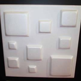 XPS пано за стена и таван - бяло - Kwadrat