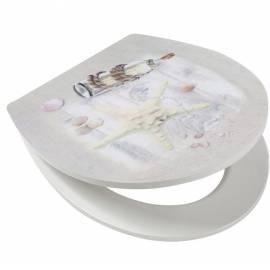 Капак за WC - тоалетна седалка с метални шарнири