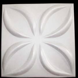 XPS пано за стена и таван Lotos - бяло