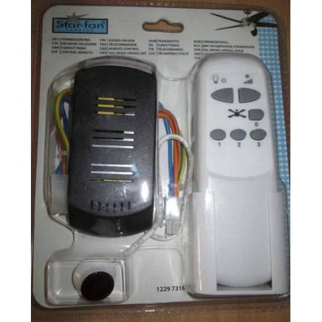Управление (дистанционно) за вентилатор с осветление