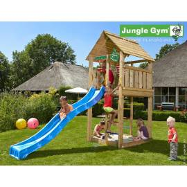 Детска Кула Jungle Gym Jungle Cabin - 350х140х305см.