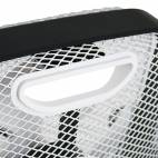 Вентилатор, бял/ черен, 45 W,  46,8 см