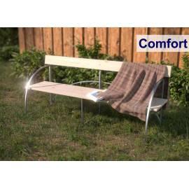 Пейка с облегалка Primaterra Comfort 190х64х82 см