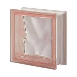 Rosa DO transparent -стъклени тухли -19 x 19 x 8 (см)