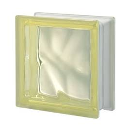 Giallo DO transparent -стъклени тухли -19 x 19 x 8 (см)