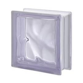 Lilla transparent - стъклени тухли, 19 x 19 x 8 см, Лилия