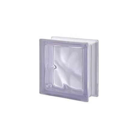 Lilla transparent - стъклени тухли, 19 x 19 x 8 см