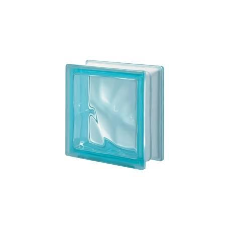 Aquamarina DO transparent -стъклени тухли -19 x 19 x 8 (см)