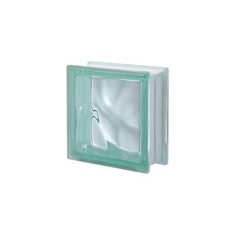 Verde - DO transparent -стъклени тухли -19 x 19 x 8 (см)