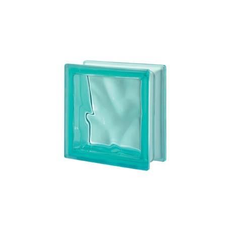 Turchese - DO transparent -стъклени тухли -19 x 19 x 8 (см)
