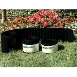 Мини лента за цветни лехи, антрацит - 9 м x10 см