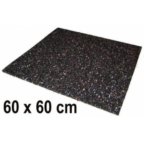 Гумена подложка - 600 x 600 x 100 mm