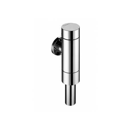 Напорен промивен клапан / бутон за тоалетна Schell Schellomat Basic SV, хромиран
