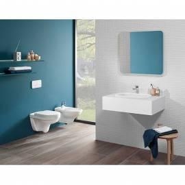 Стенна тоалетна без ръб Targa DirectFlush Set, със седалка