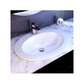 Керамична мивка Cersanit Gamma 63, за вграден монтаж върху плот