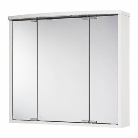 Шкаф за баня - огледало с LED осветление Jokey Lumo, MDF