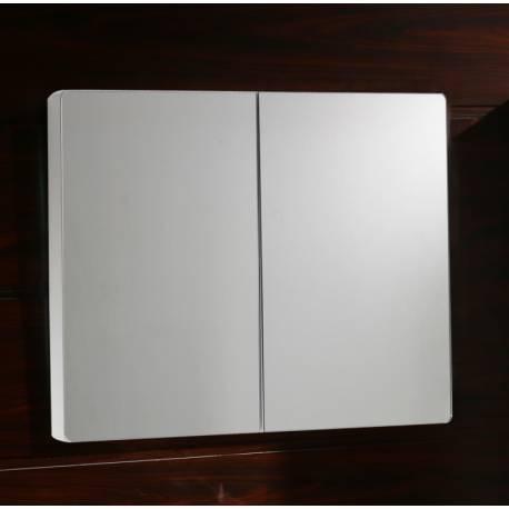 Шкаф за баня с огледало Inter Ceramic, PVC