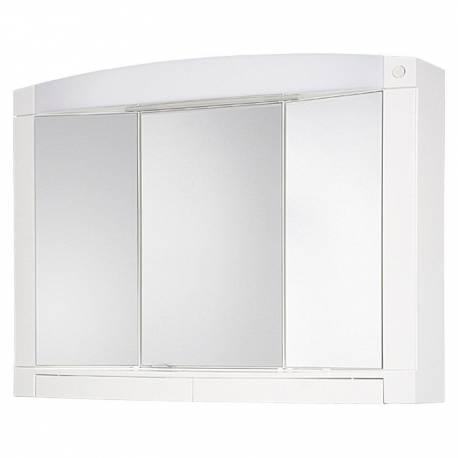 Шкаф за баня - огледало с осветление Jokey Swing, PVC