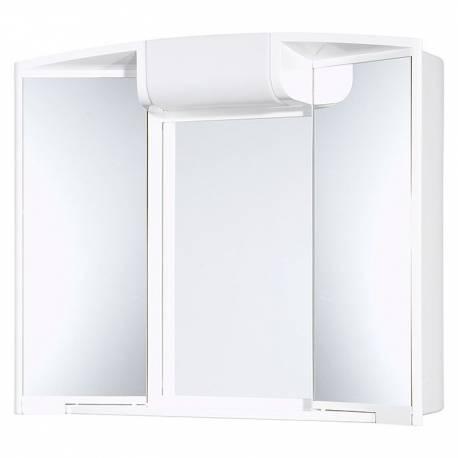 Шкаф за баня с огледало с осветление Jokey Angy, PVC