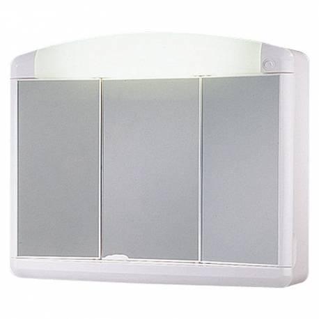 Шкаф за баня - огледало с осветление Jokey Max, PVC