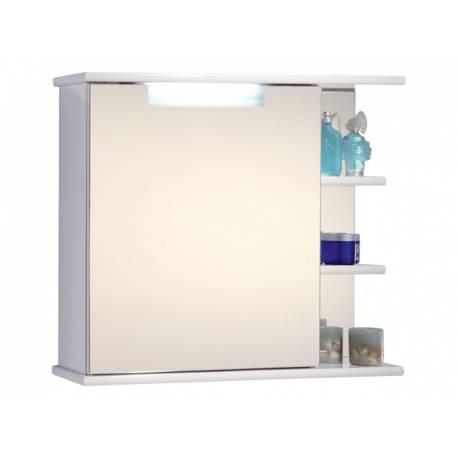 Шкаф за баня с огледало Riva Idea, 70 LED