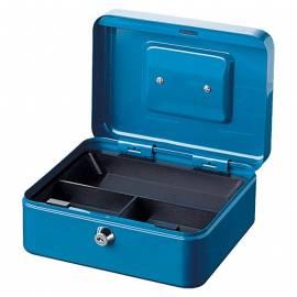 Парична кутия/ каса с монетник Money 5020, синя, 25х18х9 см