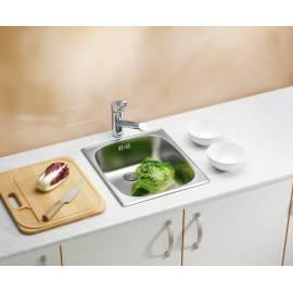 Кухненска мивка за вграждане Basic 10, 38х44 см