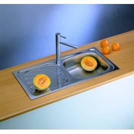 Кухненска мивка за вграждане Alveus Basic 80, 86х43,5 см