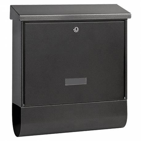 Пощенска кутия PM 77, поцинкована, черна