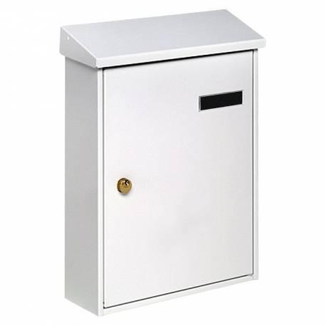 Пощенска кутия PM 33, поцинкована, бяла