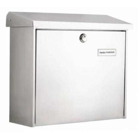 Пощенска кутия Comfort 913, неръждаема стомана, бяла