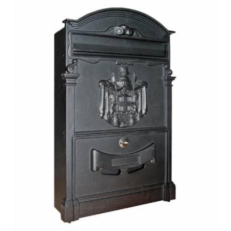Пощенска кутия Intesa Imperial, черна