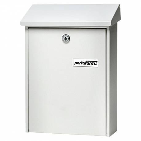 Пощенска кутия PM 22, поцинкована, бяла
