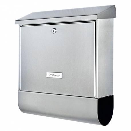 Пощенска кутия PM 77, поцинкована, сребриста