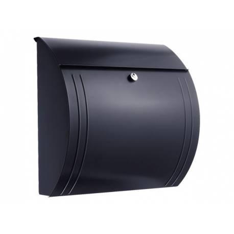 Пощенска кутия Modena 857, неръждаема стомана, черна
