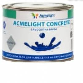 Светеща боя за бетон - класическа 0.5 л