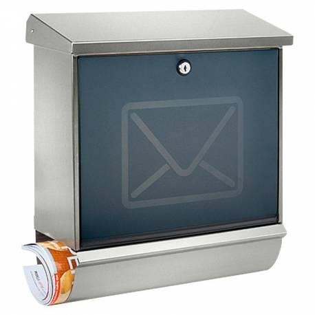 Пощенска кутия Lucca 37130, неръждаема стомана