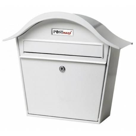 Пощенска кутия PM 66, неръждаема стомана, бяла