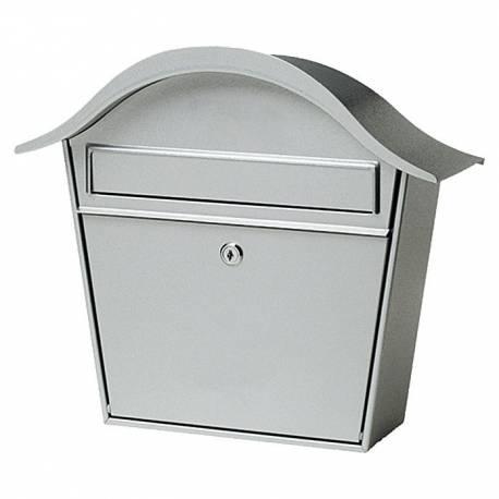 Пощенска кутия PM 66, неръждаема стомана, сива