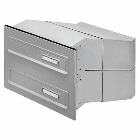 Челен капак за пощенска кутия, 794, неръждаема стомана